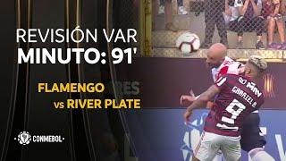 Flamengo vs River Plate,  MINUTO:  91'