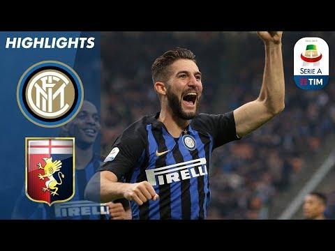 Inter 5-0 Genoa | Gagliardini scores brace in huge Inter win | Serie A