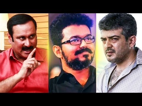 """""""From Vijay and Ajith What more do you expect ?""""   Anbumani  Ramadoss MT 54"""