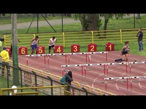 🏅 Final 100 m y 110 m Vallas - Paula Garnica y Fabian Herreño -  Ascun 2017 ll
