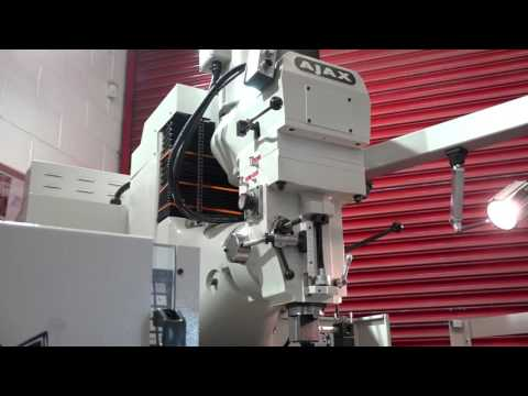 AJAX Launch a new CNC Bed Milling Machine