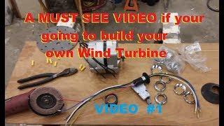 Slip rings for Wind Turbines and my DIY design