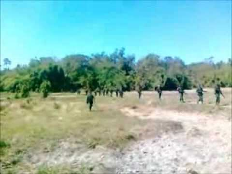 Video footage of the 'Bodoland Army' released by Bodo Militant Group NDFB (IK Sangbijit)