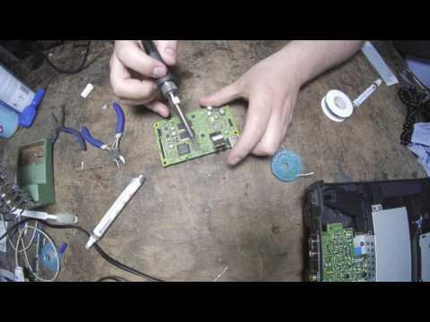 Andy's Boring Job - Pioneer CDJ2000 Ethernet/Cue button repair