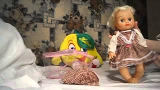 "Детская кукла ""Алина"" Видео обзор."