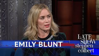 Emily Blunt Thinks Stephen Runs