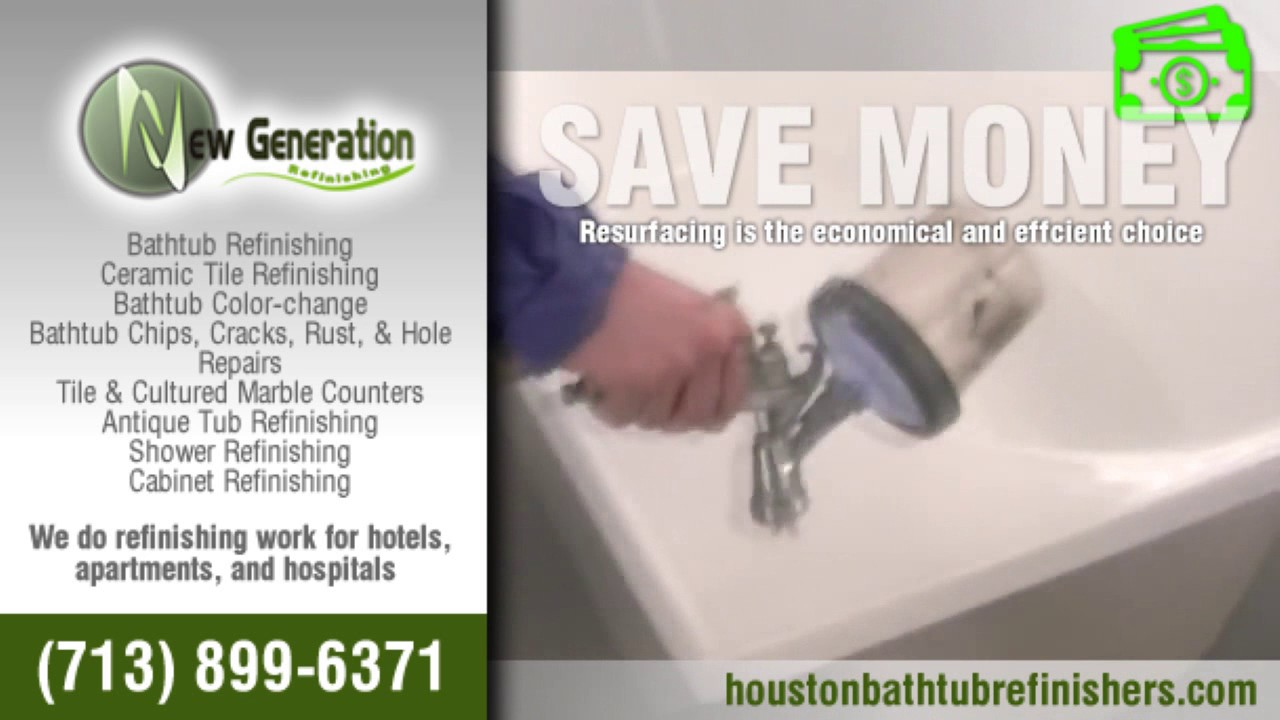 Bathtubs Refinishing In Houston Texas Youtube