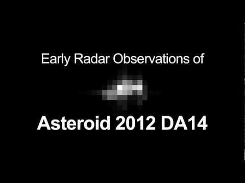 Radar Observation of Asteroid 2012 DA14 | NASA JPL Space Science HD Video