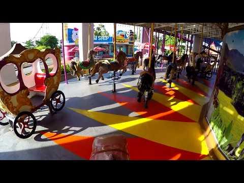 ม้าหมุนสองชั้น Double-Deck Marry Go-Round  - Siam Park City สวนสยามทะเลกรุงเทพ