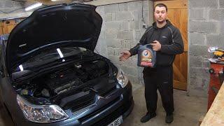 Vidange et filtre moteur Citroen C4 et Peugeot 307 1.6L 110CH