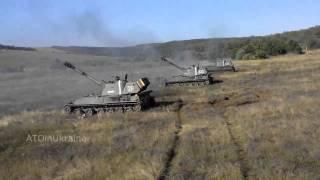 видео 93 Бригада гасит окупантов из сепаробоек Архив войны 2014