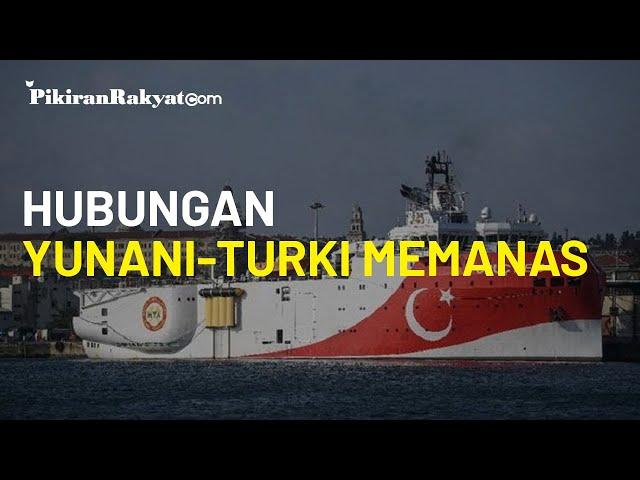 Hubungan Yunani-Turki Memanas di Laut Mediterania Timur, Usai Erdogan Kirim Kapal Militer