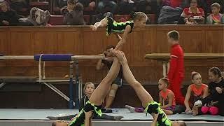 Акробатика 17.11.2018 г. Донецк женская группа