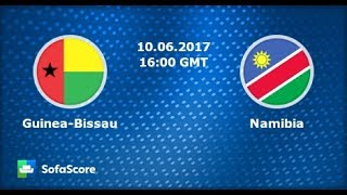 GUINEA BISSAU 1-0 NAMIBIA  AFCON CAMEROON 2019 QUALIFIERS Highlights