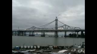 Time Lapse Video Of The San Francisco Bay Bridge Construction - Treasure Island