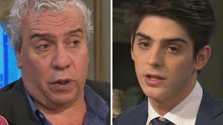 Coco Sily y Joaquín Badoza, que se recibió de abogado a los 20, aclararon un polémico entredicho