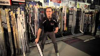 Choosing the right Goalie Stick