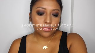Smokey Eye Makeup Tutorial | Jaydaniella ♥