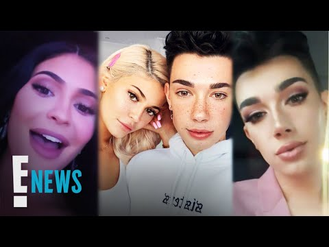 James Charles Attends Kylie Jenner's Skincare Launch | E! News