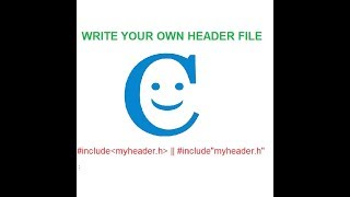 Maak Uw Eigen Header-File || Programmeren In C || Hindi || Voordracht || Viren Tiwari