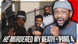 He MURDERED My Beat!! - Asking RANDOM People to Freestyle on MY Beats!! (Part 4) REAZIONE!!!