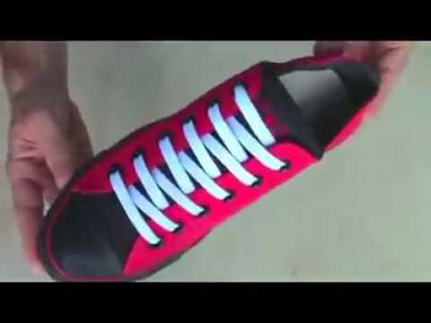 สอนวิธีผูกเชือกรองเท้า 5 แบบ 5 วิธี