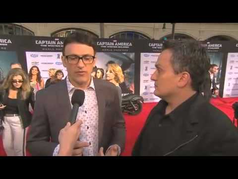Captain America The Winter Soldier Anthony Russo & Joe Russo Premiere Interview Mp3