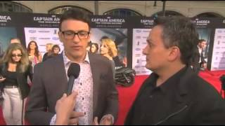 Captain America The Winter Soldier Anthony Russo & Joe Russo Premiere Interview