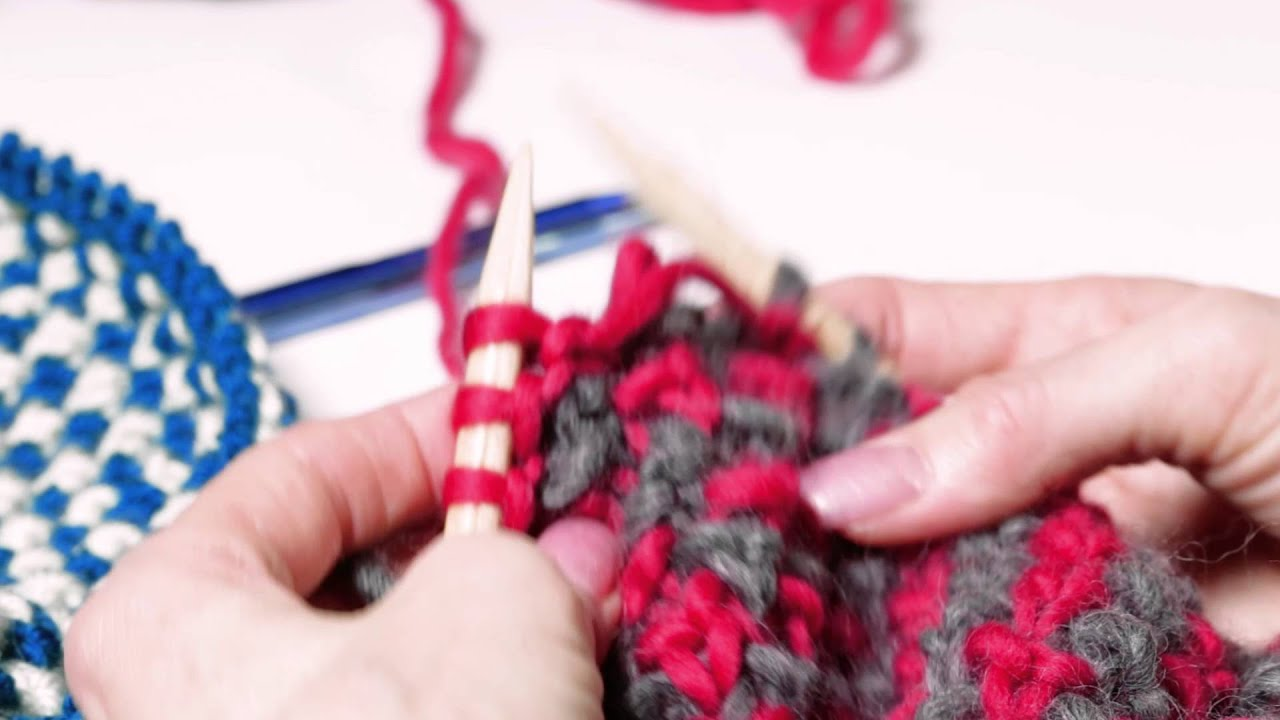 1a47f40bda1b Knitting Bee Stitch - YouTube
