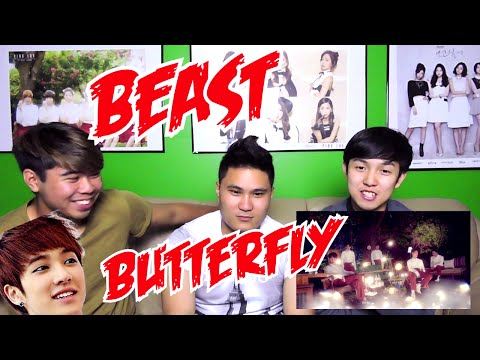 BEAST (비스트) -  BUTTERFLY MV REACTION (FUNNY FANBOYS)