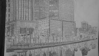 Tokyo City (Speed drawing)