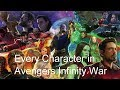 Every Character Confirmed To Appear In Avengers Infinity War