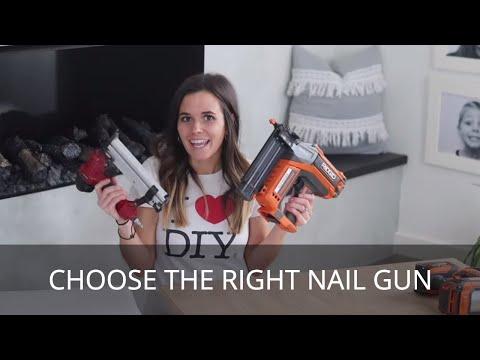 Choosing the Right Nail Gun | Brad vs Finish vs Framing Nailer | This or That DIY