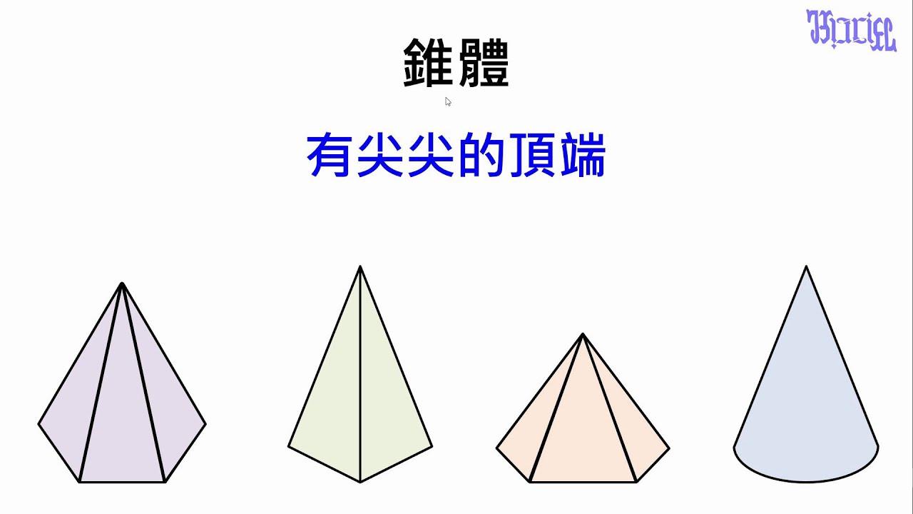 柱體和錐體 - (02)什麼是錐體 - YouTube