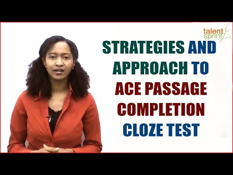 Strategies and Approach to ACE Passage Completion || Cloze Test || Banking Careers