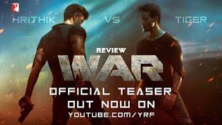 War Teaser Out Now, Hrithik Roshan vs Tiger Shroff Vani Kapoor, War Teaser