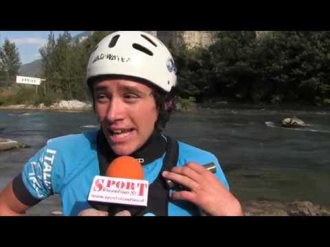 RAFTING - Intervista a Zeno Martini (azzurro U19)