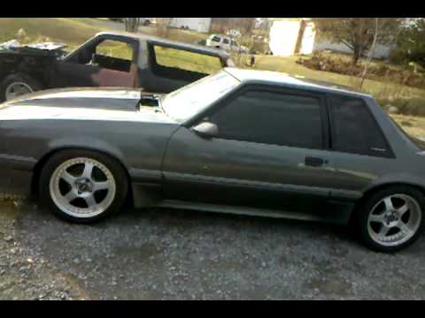 Dsg Mustang >> Dark shadow grey 93 coupe. Mustang. - YouTube
