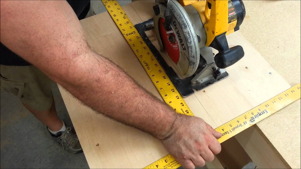 Build A Table Saw In 10 Minutes - YouTube