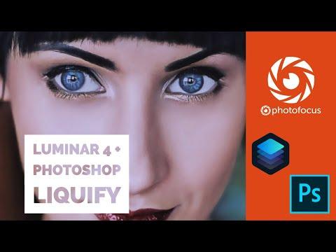 Luminar 4 + Photoshop Liquify tag team retouch