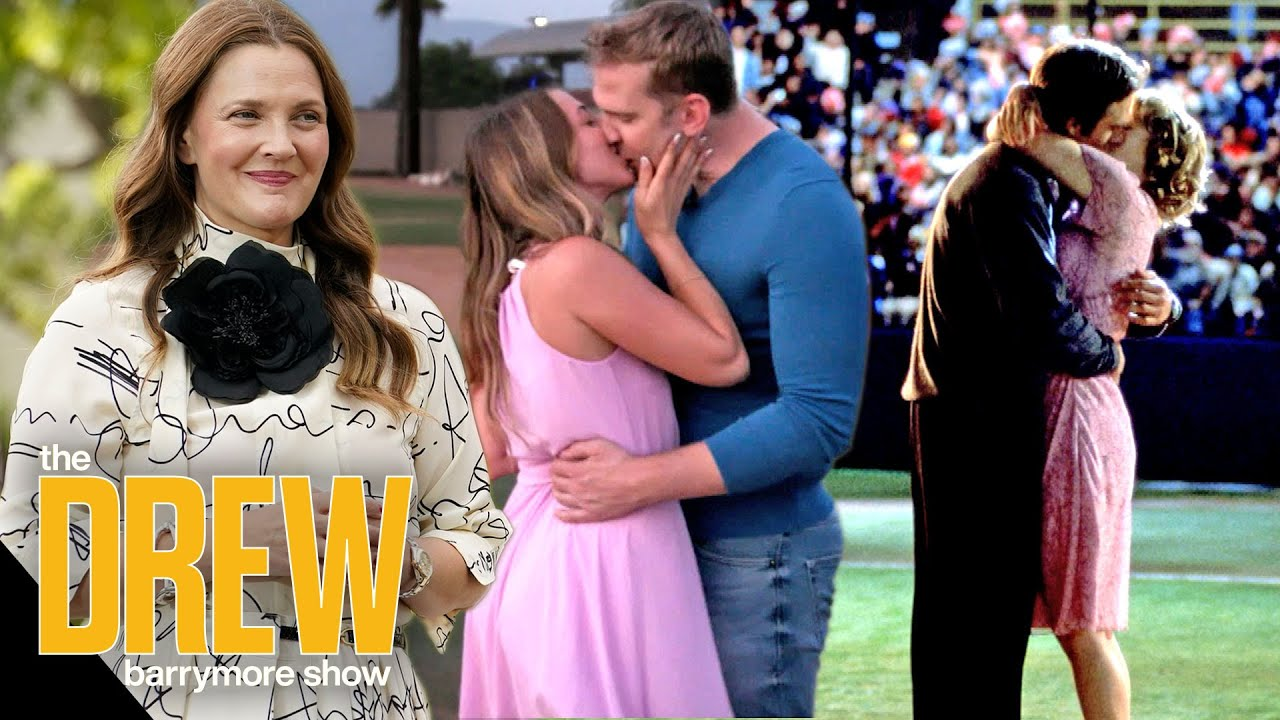 Drew Fan Recreates Never Been Kissed by Having First Kiss with Her Boyfriend on Pitcher's Mound
