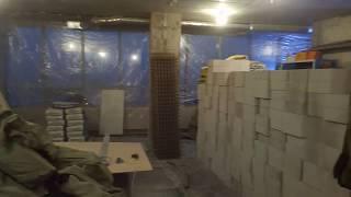 ЖК Скай Форт. Краткий обзор объекта во время демонтажных работ