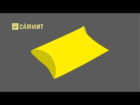 Делаем коробку подушку | Индивидуальная упаковка мелким тиражом