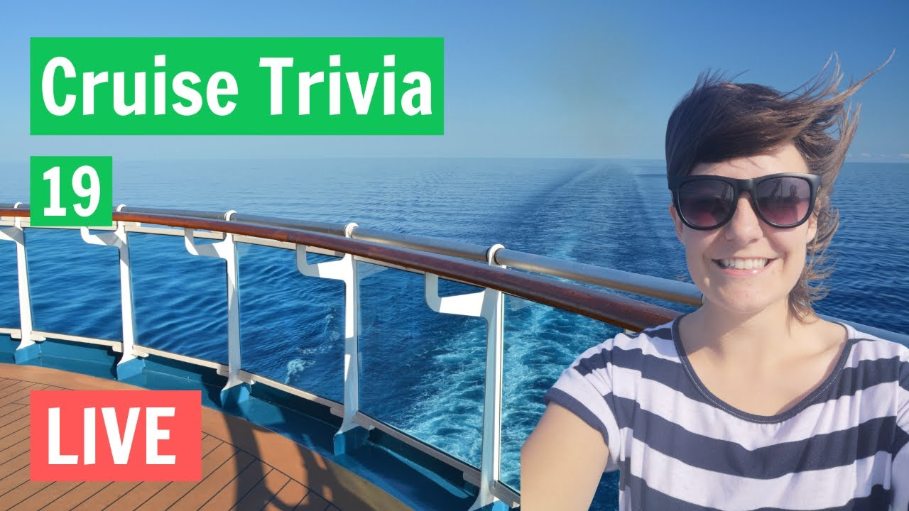 Virtual Cruise Trivia! - Live With Emma Cruises - Week 19