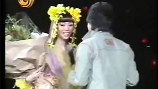 Jackie Chan and Andy Lau at Anita Mui concert