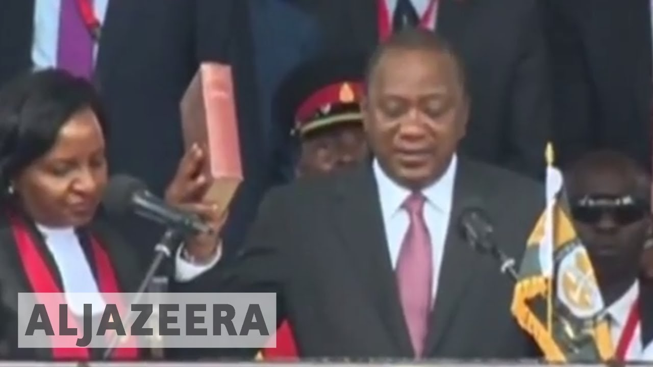Kenya's Raila Odinga rebels against president Kenyatta