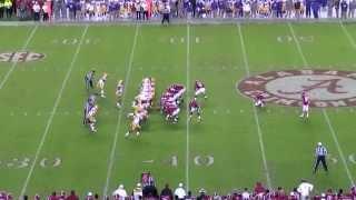 How everyone really saw Adam Griffith's 55 yard field goal against LSU...