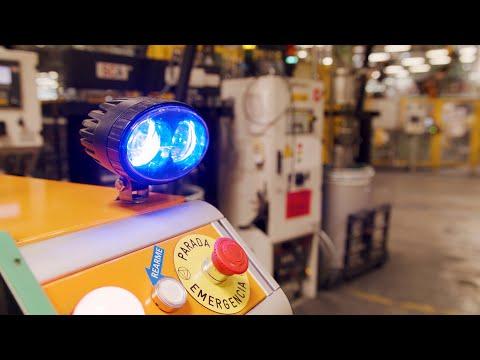Ford autonomous delivery robot named Survival hands out car parts