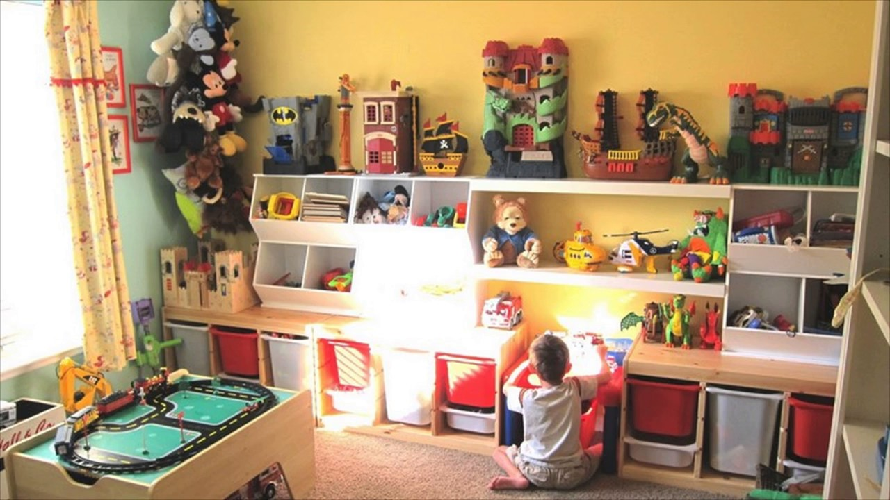 Kids Playroom Decorating Ideas - YouTube