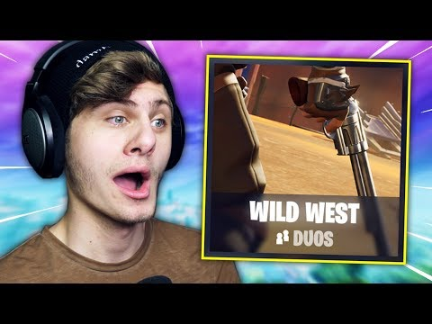 HUNTING RIFLE PLAYS IN DE WILD WEST LTM | Fortnite ft. Wouter